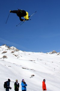 Henrik Harlaut til Slopestyle i Winter X Games 2012 i Tignes
