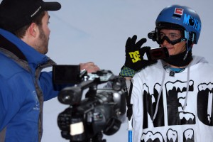 Jules Bonnaire Freeskier intervies under Winter X Games 2012 i Tignes