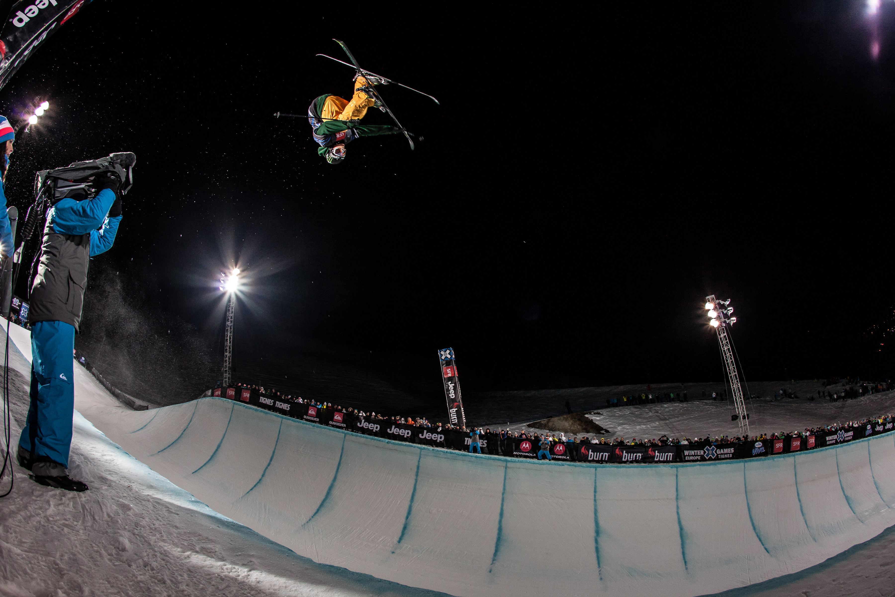 Justin Dorey X Games Tignes 2012 Superpipe - Photo & copyrights by Christian Van Hanja/ESPN Images