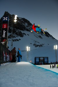 Benoit Valentin X Games Tignes 2012 Superpipe - Photo & copyrights by Andy Parant/Tignes/ESPN Images