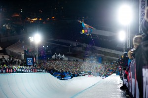 David Wise X Games Tignes 2012 Superpipe - Photo & copyrights by Vianney Tisseau/ESPN Images
