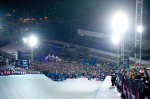 31.500 tilskuere til X Games Tignes 2012 Superpipe - Photo & copyrights by Vianney Tisseau/ESPN Images