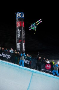 Xavier Bertoni X Games Tignes 2012 Superpipe - Photo & copyrights by Vianney Tisseau/ESPN Images