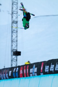 Xavier Bertoni X Games Tignes 2012 Superpipe - Photo & copyrights by Tristan Shu/ESPN Images
