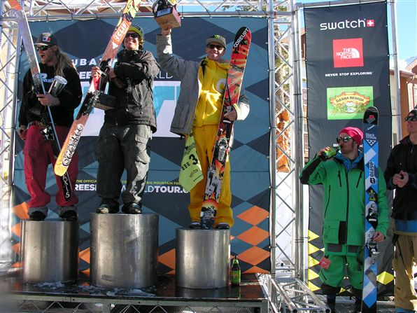 The North American Freeskiing Championships in Kirkwood (USA) 2011